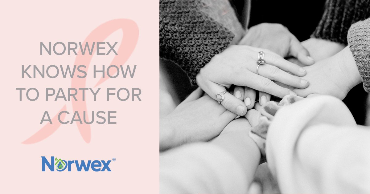 Norwex Knows How to Party for a Cause